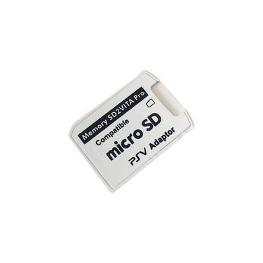 2 PCS Professional Tamanho Pequeno Vers?o 5.0 SD2VITA adaptador para PS Vita TF cart?o de mem¨®ria para PSVita Jogo Card1000 / 2000 PSV Adapter