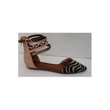 Sandália Crysalis Bronze/preto 60104304