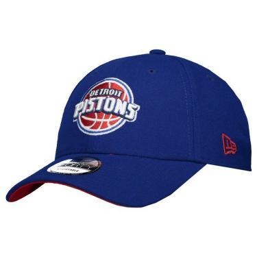 Boné New Era NBA Detroit Pistons 940 Azul