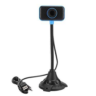 Webcam Full HD com Microfone ABS 480P USB Computador Webcam PC Câmera de Vídeo para Videochamada, Gravação, Conferência, Streaming Web Câmera para Zoom Mac Xbox Youtube Skype MSN etc