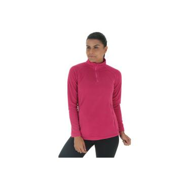 Blusa de Frio Fleece Nord Outdoor Basic - Feminina - ROSA ESCURO Nord  Outdoor 104e2107167