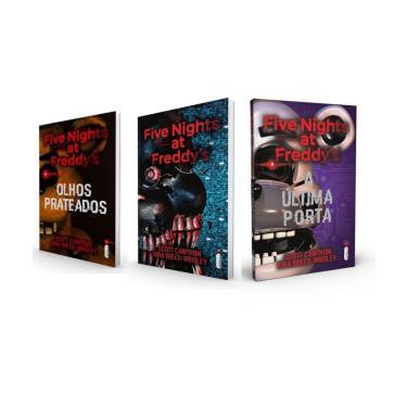 Kit Five Nights At Freddy's Olhos Prateados Os Distorcidos E A Última Porta Fnaf Capa Comum