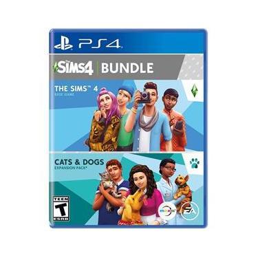 The Sims Plus Cats Dogs Bundle Edição Steard Jogo para PlayStation 4-37537