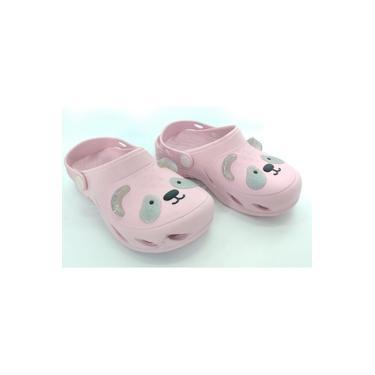 Babuche Plugt Ventor Kids Rosa 189030249