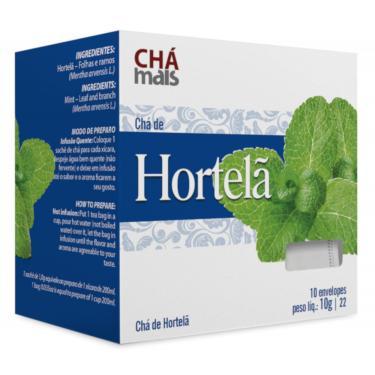Chá de Hortelã Natural Cx10 Sachês de 1g