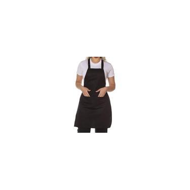 Avental De Cozinha Com Bolso 100% Algodão