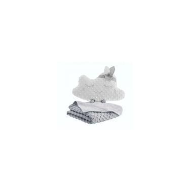 Imagem de Kit Jolitex Luxo Edredom / Cobertor + Almofada Bebê Unissex