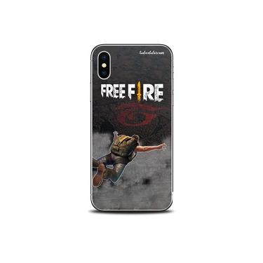 "Capa Case Capinha Personalizada Freefire iPhone XR 5.8"" - Cód. 1077-A011"