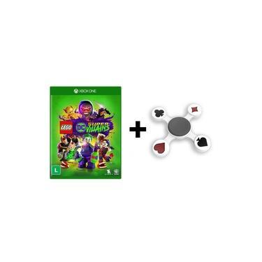 Jogo Lego DC Super Villains + Fidget Hand Spinner Naipes - Xbox One