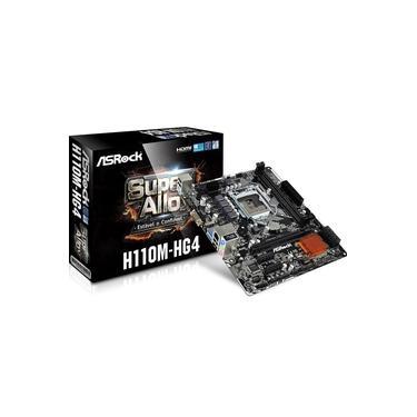 Placa Mae ASRock H110M-HG4 DDR4 Socket LGA1151 Chipset Intel H110