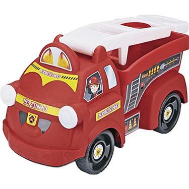 Imagem de Caminhão Truck, Homeplay, Bombeirinho, Vermelho