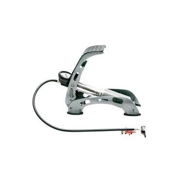 Bomba de ar com pedal para encher pneus - PREMIUM - Brasfort