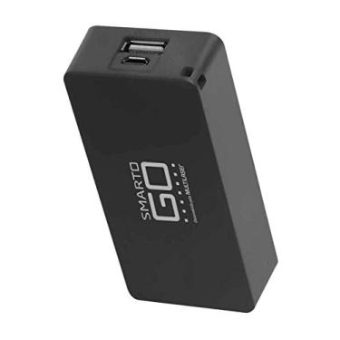 Carregador Multilaser Smartogo Power Bank 4000mah Unitário Preto CB125