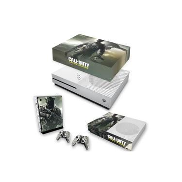 Capa Anti Poeira e Skin para Xbox One S Slim - Call Of Duty: Infinite Warfare