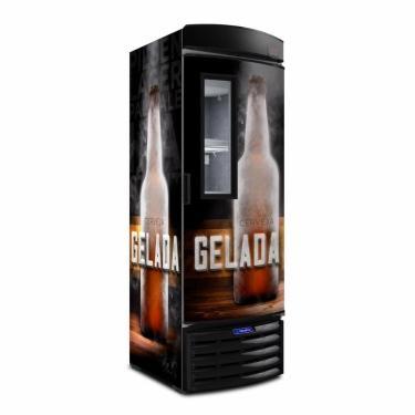 Cervejeira Expositora Metalfrio Vn44fl Vertical - Preto