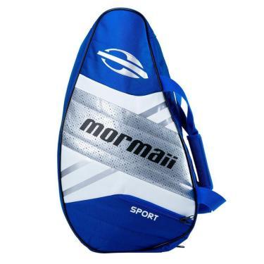 Raqueteira Beach Tennis Mormaii Sport Azul