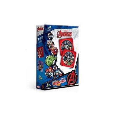 Imagem de Jogo Da Memória Marvel Avengers Vingadores Da Toyster 2748