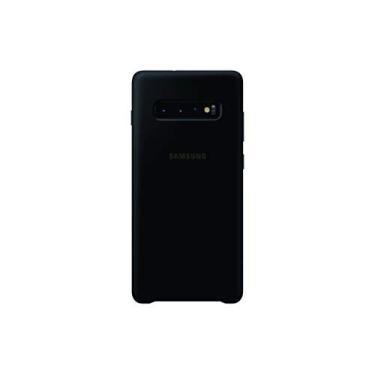 Capa Protetora Silicone Preta Galaxy S10 Plus, Samsung, Capa Protetora para Celular, PRETA