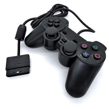 Controle Playstation 2 Joystick Dualshock Ps2 Com Fio