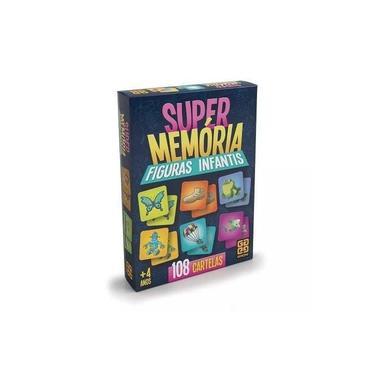 Imagem de Jogo da Memoria Super Memória Figuras Infantis- Grow