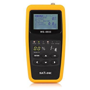 Localizador Satlink WS-6933 DVB-S2 FTA, Localizador de Satélite Digital