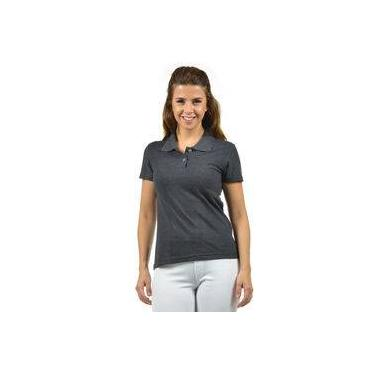 c5ac64143 Camisa Polo Piquet Feminina Fenomenal