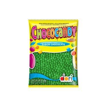Imagem de Confeitos de Chocolate Chococandy Verde 350g - Dori