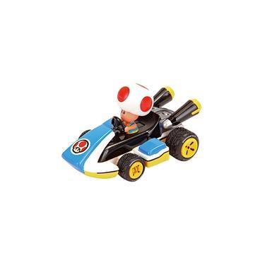 Carrinho de Fricção Mario Kart PS e Nintendo Toad 7cm 1:43 Carrera