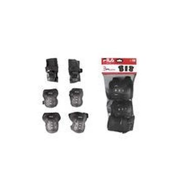 Kit De Protecao Fila Junior Fp Boy Blk F16 Xxp
