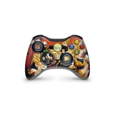 Skin Adesivo Para Xbox 360 Controle - Dragon Ball Z