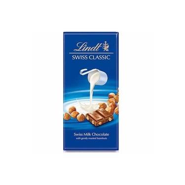 Chocolate Lindt Swiss Milk Chocolate Hazelnut Avelã 100 gr