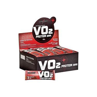 Barra De Proteina Integralmedica Vo2 Protein Bar - Chocolate - Cx 24 Unidades