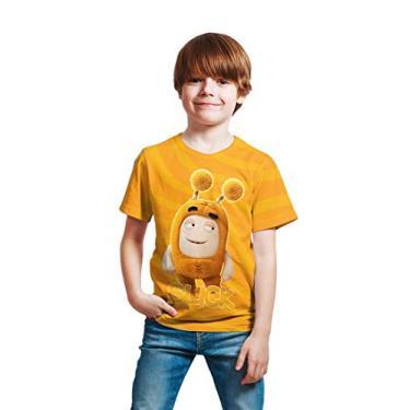 Camiseta Infantil Menino OddBods Slick