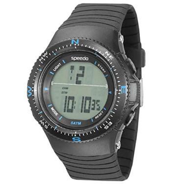 2294a2787 Relógio Speedo 81087g0egnp3k4 Com Iluminação + Calendário E Cronômetro