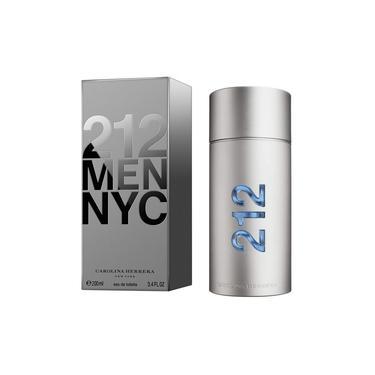 Perfume 212 Men Nyc Carolina Herrera Masculino 100ml Eau De Toilette