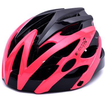Capacete Bike Tamanho Ajustável Rosa E Preto Garra7