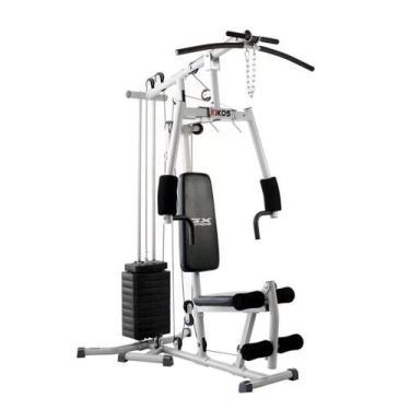 Imagem de Estação De Musculação Kikos Gx Supreme Carga De Peso Até 45Kg Cx Com 3