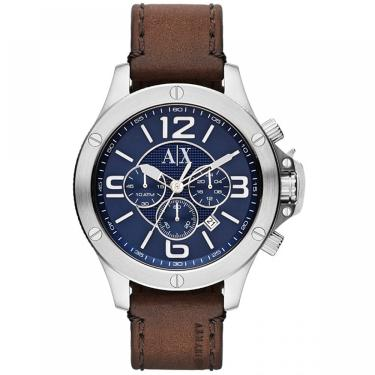 fb2f721dd7c Relogio Masculino Armani Exchange Analogico - Ax1505 0an - Marrom prata