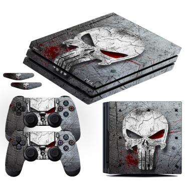 Adesivo Skin Playstation 4 PRO Justiceiro The Punisher