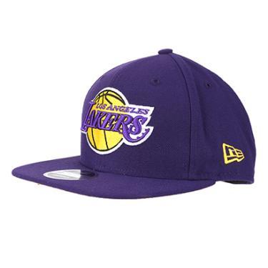 Boné New Era NBA Los Angeles Lakers Aba Reta 950 OF SN Primary Otc - Unissex 15e63d7d32a