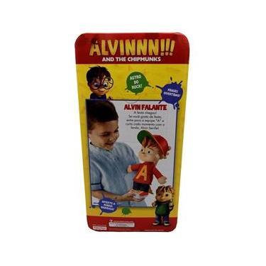 Imagem de Brinquedo Boneco Esquilo Alvin Falante Fala Frases - Personagem Do Desenho Filme Infantil Alvin E Os Esquilos - Fisher Price
