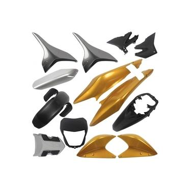 Kit Carenagem XRE 300 2010 Até 2011 Dourada Mod Original