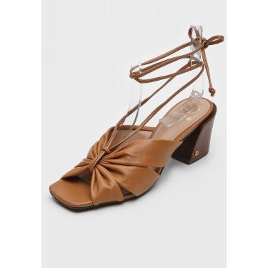 Sandália Dumond Amarração Bronze Dumond 4116030 feminino