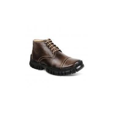 Bota dress boot masculina sandro moscoloni dotlander marrom brown - Sandro republic