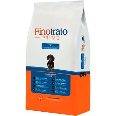 Ração Seca Finotrato Prime Light Premium Especial para Cães Adultos Raças Pequenas e Médias - 3 Kg + 1 Kg Grátis