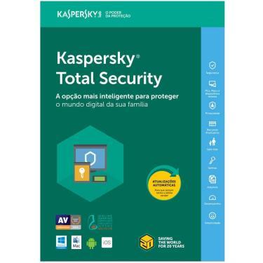 Kaspersky Anti-Virus Total Security 2020 Para 3 Usuarios