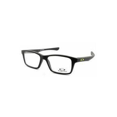 fe1e2f6f87f63 Armação Óculos Grau Oakley Oph Shifter XS Satin Black OX8001