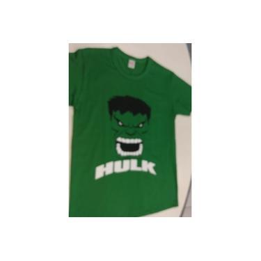 Camisa Hulk Tamanho 12 Anos