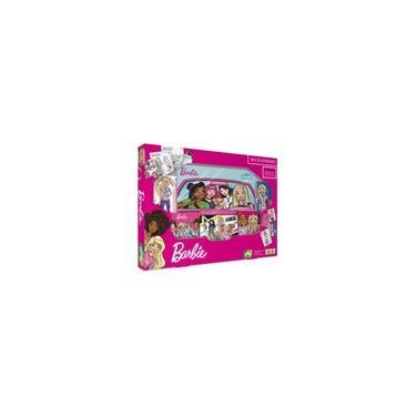 Imagem de Kit Barbie Box de Atividades com Jogos Copag