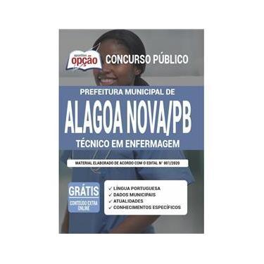 Imagem de Apostila Prefeitura Alagoa Nova Pb - Técnico Em Enfermagem